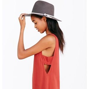 Urban outfitters orange red rust tank top